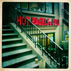 Photo taken at Montague Street Bagels by Todd S. on 5/8/2011