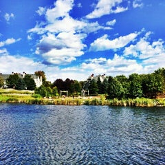 Photo taken at Centennial Lakes Park by Kimberly D. on 9/8/2012