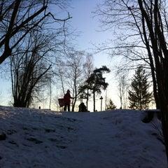 Photo taken at Leikarvollen by Thomas C A Tandberg B. on 12/24/2011