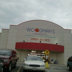 Photo taken at Woodman's Food Market by Pam D. on 4/3/2011