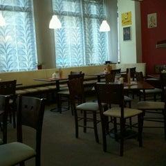 Photo taken at Café - Restaurant Biograf by Karel B. on 7/22/2011