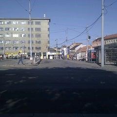 Photo taken at Mendlovo náměstí (tram, bus) by Gekon on 5/25/2011