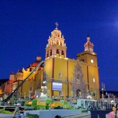 Photo taken at Basílica Colegiata de Nuestra Señora de Guanajuato by Michael M. on 3/24/2012