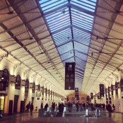 Photo taken at Gare SNCF de Paris Saint-Lazare by Kaysha on 3/9/2012