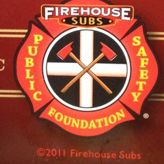 Photo taken at Firehouse Subs by Meggan C. on 3/29/2012
