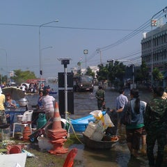 Photo taken at แยกทศกัณฐ์ (Thotsakan Intersection) by Pat P. on 11/4/2011