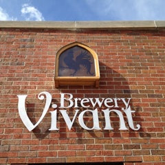 Photo taken at Brewery Vivant by Mitch M. on 4/22/2012