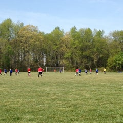 Photo taken at City Of Dover Parks & Recreation • Schutte Park by Katy O. on 4/14/2012