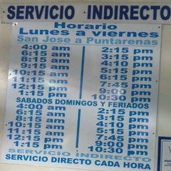 Photo taken at Terminal Empresarios Unidos by Moraditika on 3/31/2012