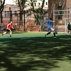 Photo taken at Lions Gate Soccer Field by Dino J. on 5/13/2012