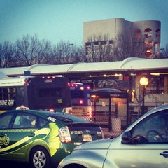 Photo taken at Shady Grove Metro Station by Meghan R. on 2/3/2012