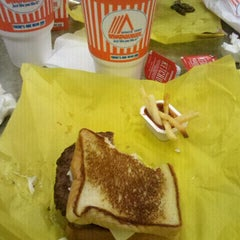 Photo taken at Whataburger by David R. on 11/16/2011