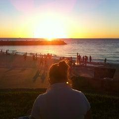 Photo taken at Cottesloe Beach by Warren D. on 1/11/2011