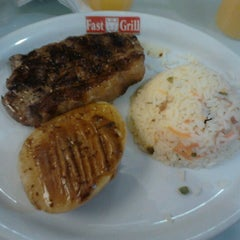 Photo taken at Fast Grill by Rosa M. on 9/7/2012