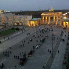 Photo taken at Pariser Platz by Peter C. on 10/25/2011