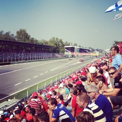 Photo taken at Autodromo Nazionale di Monza by Benedetta A. on 9/9/2012