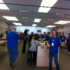 Photo taken at Apple Store, City Creek Center by M O. on 9/30/2011