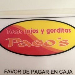 Photo taken at Tacos Pacos by Ulises S. on 12/31/2011