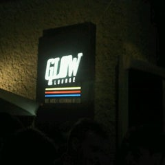 Photo taken at Glow Lounge by Welington S. on 10/13/2011