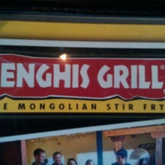 Photo taken at Genghis Grill by Dustin R. on 8/25/2011