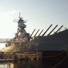 Photo taken at USS Wisconsin (BB-64) by Scott M. on 5/3/2012