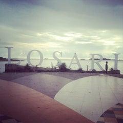Photo taken at Pantai Losari by Zefanya V. on 5/3/2012