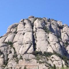 Photo taken at Monistrol de Montserrat by Joycee O. on 4/1/2012