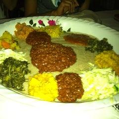 Photo taken at Meaza Restaurant & Market by Abhishek on 9/2/2012