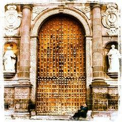 Photo taken at Catedral de Nuestra Señora de la Inmaculada Concepción by Jacqueline S. on 8/19/2012