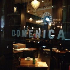 Photo taken at Domenica by Tamar S. on 5/22/2012
