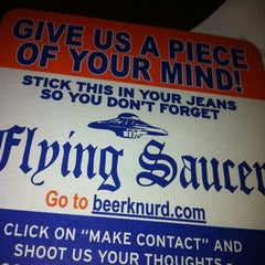Photo taken at Flying Saucer Draught Emporium by Jon-Stephen S. on 3/23/2012