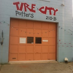 Photo taken at Tire City Potters by karenGordon J. on 8/29/2012