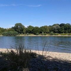 Photo taken at Parkinsel by Stefan T. on 8/18/2012