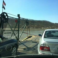 Photo taken at Anderson Ferry by Mike W. on 3/10/2012