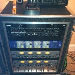 Photo taken at Bombhouse Studio by Benton Blount #. on 3/20/2012