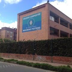 Photo taken at Colegio Campestre Maximinio Poitiers by Jose Mario J. on 5/30/2012