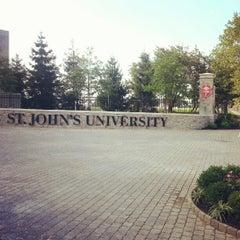 Photo taken at St. John's University by STJnow on 8/18/2012