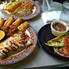 Photo taken at Tres Amigos Cantina by Curtis K. on 4/21/2012