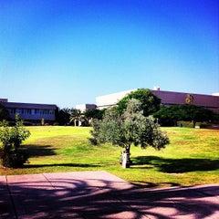 Photo taken at Tel Aviv University   אוניברסיטת תל-אביב by Ron G. on 8/14/2012