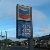 Photo taken at Chevron by Andy W. on 5/9/2012