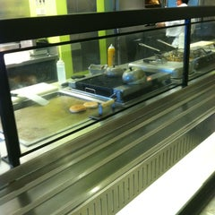 Photo taken at American Express HQ Cafeteria by Alcibiades D. on 3/22/2012