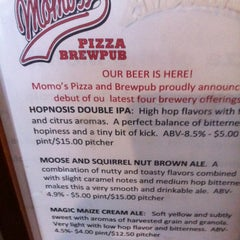 Photo taken at Momo's Pizza by Dana N. on 2/16/2012