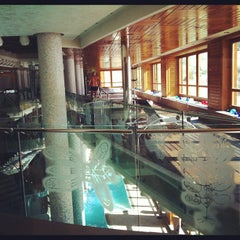 Photo taken at Sport Hotel Hermitage & Spa by Jamie K. on 3/16/2012