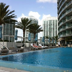 Photo taken at Epic Rooftop Pool by Jenny L. on 8/7/2012