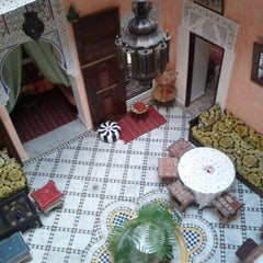 Photo taken at Riad Idrissi by Калоян Д. on 4/10/2012