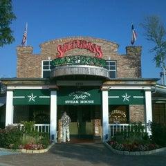 Photo taken at Saltgrass Steak House by Thomas B. on 5/16/2012