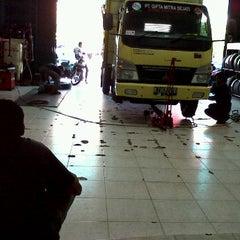 Photo taken at Jl. Jenderal Sudirman by Aurora P. on 9/15/2011