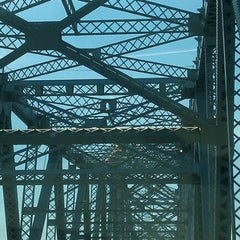 Photo taken at Outerbridge Crossing by Amanda D. on 7/5/2011