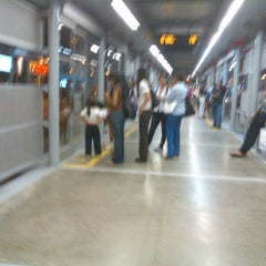 Photo taken at Estación MIO Av. Las Americas by Adolfo A. on 4/13/2012