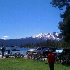 Photo taken at Redfish Lake Lodge by Timothy M. on 6/26/2011